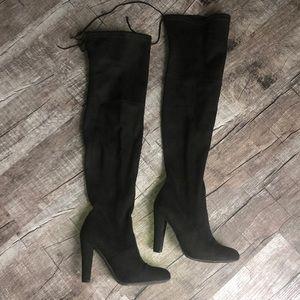 Steve Madden OTK Black boot size 7.5